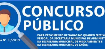 EDITAL Nº 010, DE 30 DE JANEIRO DE 2020
