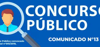 COMUNICADO N°13