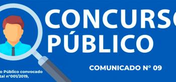 COMUNICADO N°09