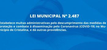 LEI MUNICIPAL N° 2.487