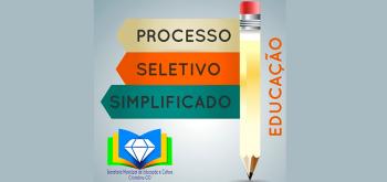 PROCESSO SELETIVO SIMPLIFICADO PARA CONTRATAÇÃO TEMPORÁRIA DE PROFESSOR SUBSTITUTO PARA A REDE PÚBLICA DE ENSINO